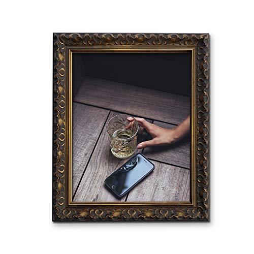 TAILORED FRAMES-VIENNA GOLD, Weinlese-aufwändige Shabby Chic BILDERRAHMEN A4-Größe