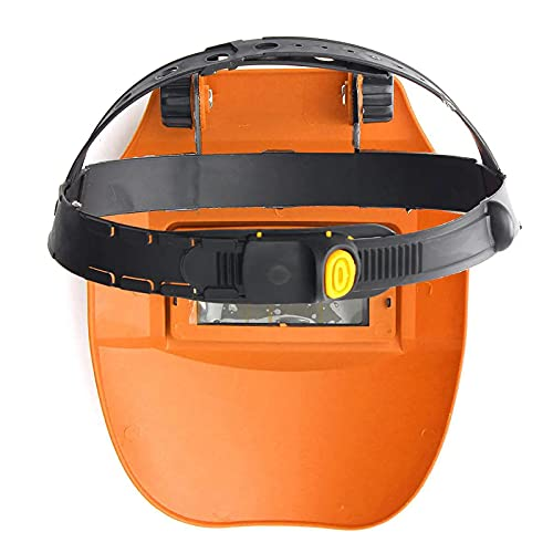 Casco de Soldadura con Protección UV, Careta Soldar Automática, Casco de Soldadura Ajdustable Oscurecimiento Batería integrada, para Taller de Soldadura de Mantenimiento