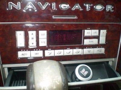 NAVIGATOR Dash Lincoln Burl Madera Interior del Kit del 2003 2004