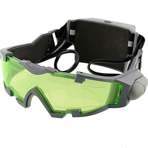 Yongse Lunettes de vision nocturne lentille réglable élastique Night Band Glasses Eyeshield Worldwide Green