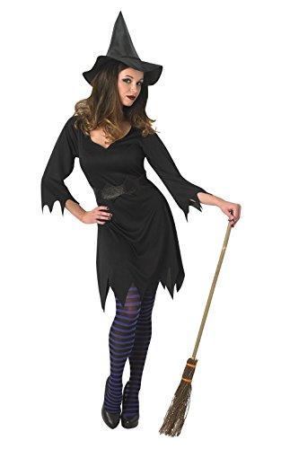 Rubie 's Offizielles schwarz Enchantress Hexe Kostüm für Erwachsene klein