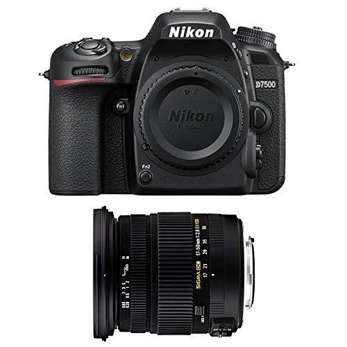 Nikon D7500 + Sigma 17-50 DC OS EX HS