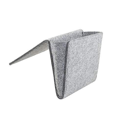 Stecto - Bolsa de fieltro para sofá y sillones (28 x 22 x 11 cm), color gris