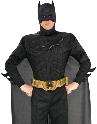 BATMAN ~ The Dark Knight™ (Muscle Chest) - Adult Costume Men : LARGE
