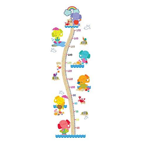 Autocollant mural facile à décoller et à coller - Amovible - Belle hauteur - Pour chambre d'enfant ou réfrigérateur