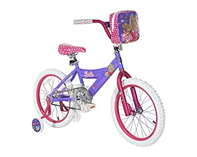 "Barbie 18"" Bike with Removable Training Wheels"