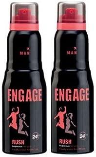 Engage Man Bodylicious Deodorant Spray - Rush (150ml) (pack of 2) SF001 SF Wide Stone 45