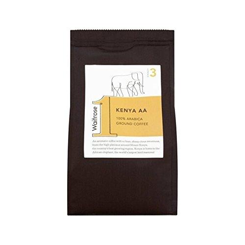 Kenia Aa Gemahlenen Kaffee 227G Waitrose - Packung mit 6