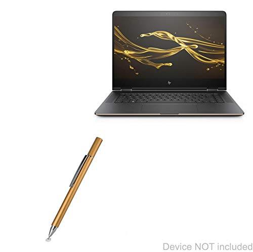 Stylus Pen for HP Spectre X360 (Stylus Pen by BoxWave) - FineTouch Capacitive Stylus, Super Precise Stylus Pen for HP Spectre X360 - Champagne Gold