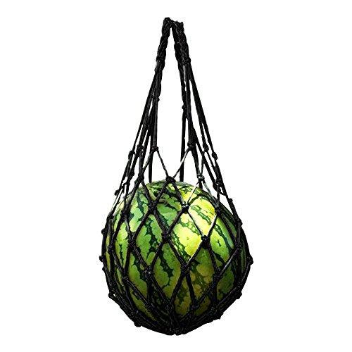 YINKUU Red de melón de bolsillo para baloncesto de frutas y sandía