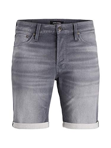JACK & JONES Herren Jeansshorts Rick Icon GE 005 XLGrey Denim