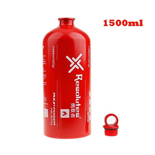 Lixada Fuel Bottle Petrol Alcohol Liquid Gas Oil Bottle Outdoor Camping No-Leak Safety Gas Can Oil Container Extra Emergency Backup Fuel Tank 500ML / 750ML / 1000ML / 1500ML
