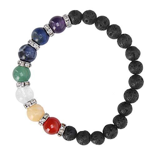 Magnetic Therapy Slimming Bracelet, Natural Energy Stone Bracelet, Exquisite Yoga Bead Bracelet for Men