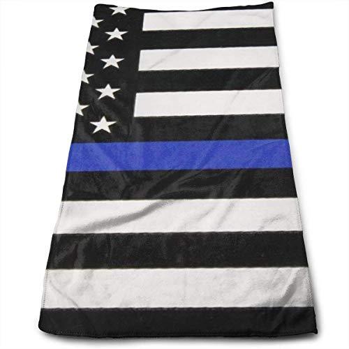 Cute Bi Toallas de Bandera de Línea Azul Delgada Toallas de