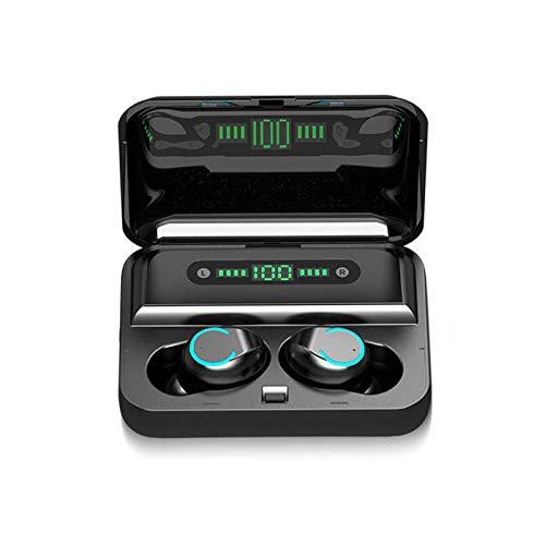 Auriculares Deportivos inalámbricos con Auriculares Bluetooth para Videojuegos-Negro_China