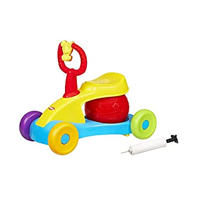 Playskool Bounce and Ride Active Toy Ride-On for Toddlers 12 Months and Up with Stationary Mode, Music, and Sounds (Amazon Exclusive) from Hasbro