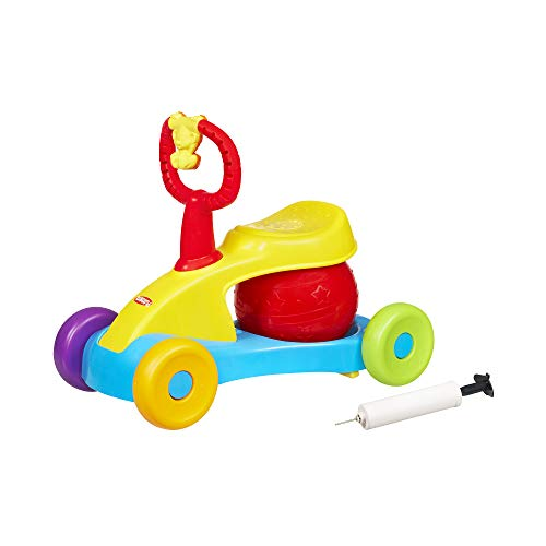 Playskool - Voiturette petits bonds musicale et jouet de promenade - Jouet nouveau né - Jouet bébé