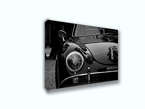 Best of Canvas Prints Wall for Classic Porsche 356 | Modern Wall Decor/Home Decoration Stretched Gallery Canvas Wrap Giclee Print. Ready to Hang (24X36)