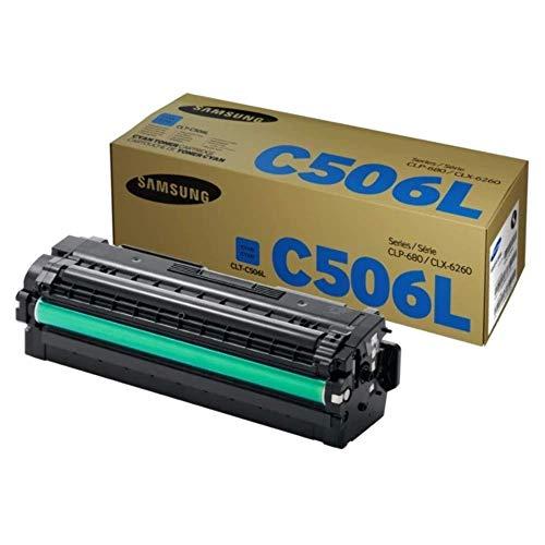 Samsung CLT-C506L/ELS Original Toner CLP680ND/CLX6260 HC Cyan