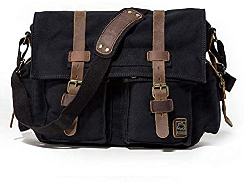 Briefcase Home Herren Schulter Crossbody Canvas Bag SLR Kamera Digitalkamera Bag SLR Kameratasche