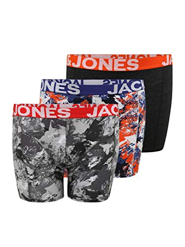 Jack & Jones Plus Herren Boxershorts CORE orange 4XL