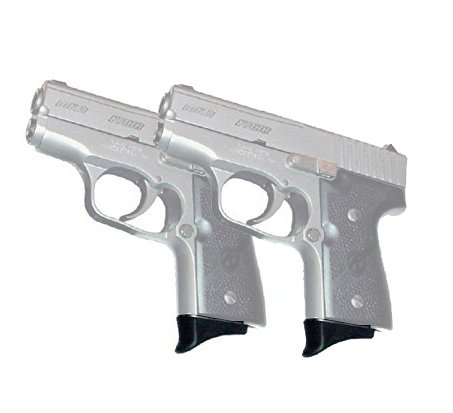 Pack of 2 Grip Extension for Kahr MK9/K9/39/K40 Colt Pocket 9 /2PCS