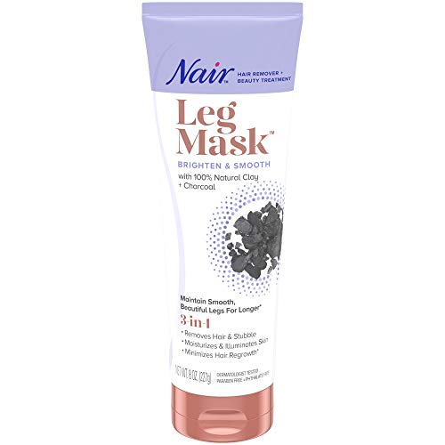 Nair Hair Remover & Beauty Treatment Charcoal Clay Leg Mask 8.0oz
