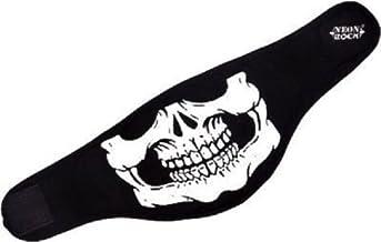 Motoway Half Face Skeleton Rubber Print Anti Pollution Face Mask for Hero Impulse