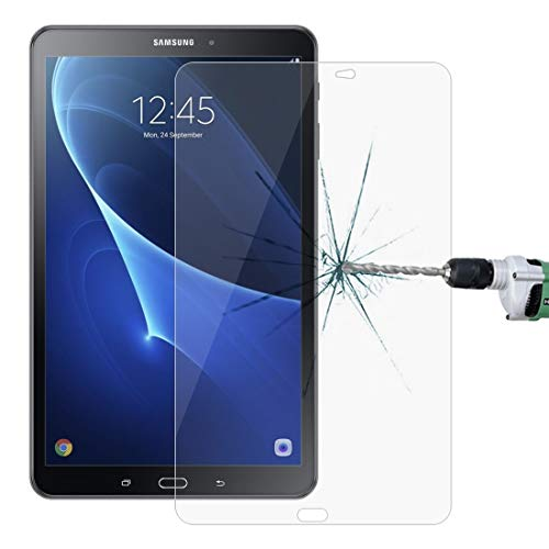 Wangl Tempered Glass Film for Galaxy Tab A 10.1 (2016) T580 / T585 0.26mm 9H Surface Hardness 2.5D Explosion-Proof Tempered Glass Screen Film Tempered Glass Film