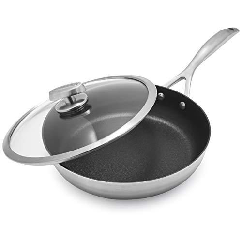Scanpan CS+ Saut233; Pan with Lid, 3 qt.
