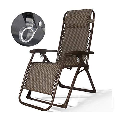 Taburete Plegable Portátil Mini Silla Portátil Silla de playa plegable ajustable reclinable Silla de playa con la almohadilla silla pesca silla de sol del metal de bloqueo tubo cuadrado respirable fre