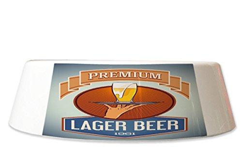 LEotiE SINCE 2004 Fress Futter Napf Brauerei Bier Küche Premium Lager Bier Bedruckt