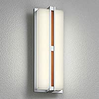 ODELIC(オーデリック) エクステリアライト LEDポーチライト【人感センサ付】 チーク色木調:OG254252