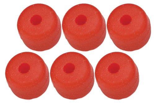 Pine Ridge - Botón Nitro (6 Unidades), Color Rojo