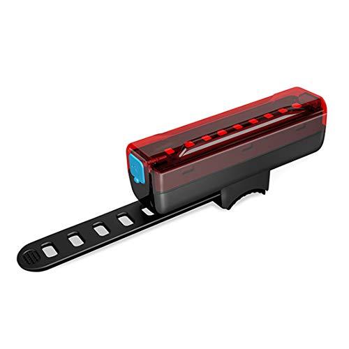 CXQWAN Sécurité LED Tail Bike Light, USB Rechargeable vélo dégagement Rapide du vélo Lampe de Poche, Route/Montagne/Vélo Ville Accessoires