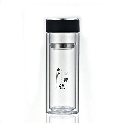 Doppelglas, erschwingliche Geschenke, Werbe-Tassen, Logo Druck, cu