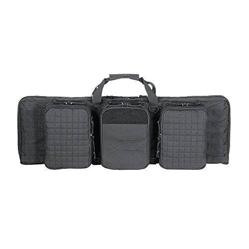 VooDoo Tactical 15-9648001000 Deluxe Padded Weapons Case, Black, 42'