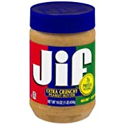 Jif Extra Crunchy Peanut Butter (Pack of 2)