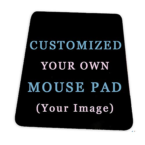 Custom Design Your Customized Non-Slip Mouse pad with Photo Text Logo for Gaming Office Personalized Gift Vertical Style 1 7x8.6in
