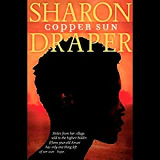Copper Sun audiobook cover art