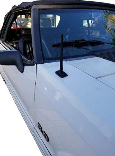 7 Inch Antenna MAST Black for Ford Mustang 1979-2009