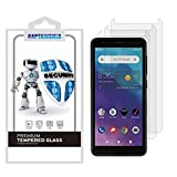 (3 Pack) CaptainShld for ZTE (Blade Vantage 2) Tempered Glass Screen Protector, Anti Scratch, 0.33mm, Bubble Free