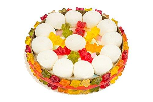 Gummibären Torte aus Fruchtgummi und Schaumgummi, 460g