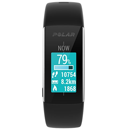 Polar A360 Fitness Tracker with Wrist Heart Rate Monitor (Pink, Small)