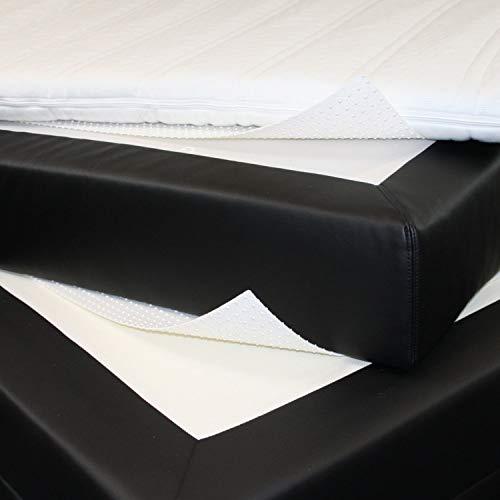 Badenia Bedcare Double-Fixx Anti-Rutsch-Unterlage für Boxspring-Betten 100x170 cm für Matratzengrößen bis 140x200 cm