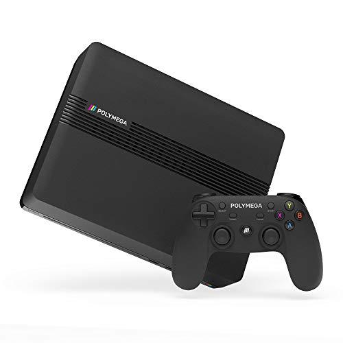 Polymega 本体ベースユニット + ワイヤレスコントローラ セット Base Unit + Wireless Controller Black PM...