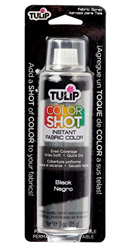 Tulip ColorShot Instant Fabric Color 3oz. Black