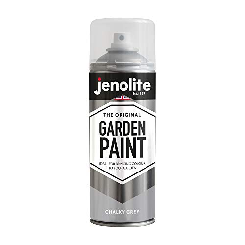 JENOLITE Garden Furniture Spray Paint - Chalky Grey - 400ml