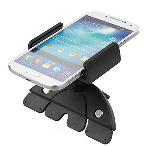 Soporte Universal para Coche con Ranura para CD, Soporte para GPS para iPhone 7 y Samsung Note 9