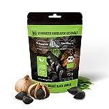 Ajo negro pelado orgánico - vegano, fermentado, de alta dosis, natural certificado - ajo negro ecológico fermentado - hecho en Escandinavia